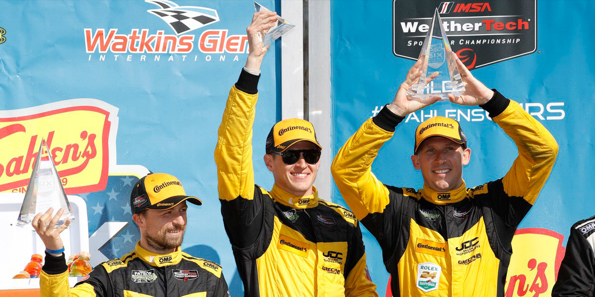 Stephen Simpson drives JDC to 2nd place during 6 hours of Watkins Glen